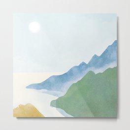 Serenity Landscape 1 Metal Print