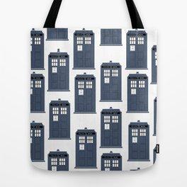 Doctor WHO Tardis Pattern Tote Bag