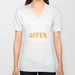 GOFER Unisex V-Neck