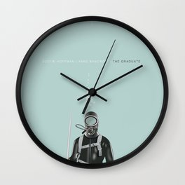 The Graduate - Alternative Movie Poster Wall Clock