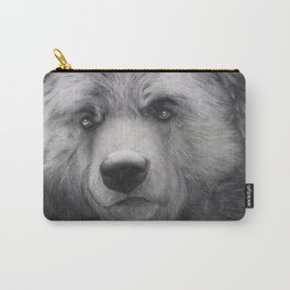 Bear Charcoal Carry-All Pouch