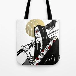 Blind Swordsman Tote Bag