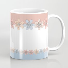 Flowers paper, cut paper Coffee Mug