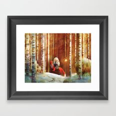 To Care for a Star Framed Art Print