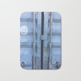 Shipping Container Doors Bath Mat