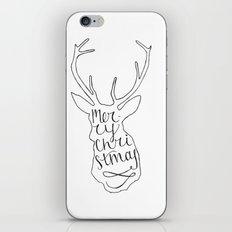 Merry Christmas Deer (2) iPhone Skin