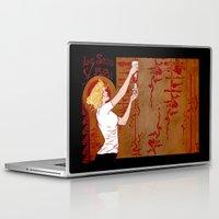 true blood Laptop & iPad Skins featuring True Blood Nouveau by Nana Leonti