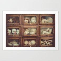 Doll Parts Art Print
