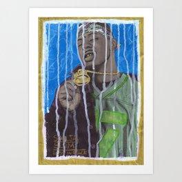 DEAD RAPPERS SERIES - Soulja Slim Art Print