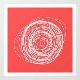 Nest of creativity Art Print
