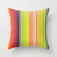 vector Throw Pillows featuring Vector Equilibriums by Elias Zacarias