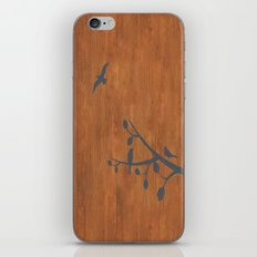 free as a bird iPhone Skin