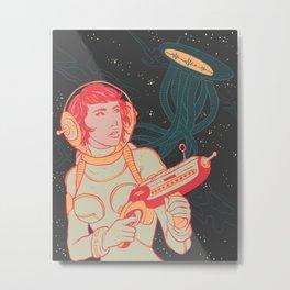 Astro Girl Metal Print