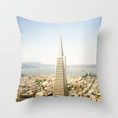 Transamerica Pyramid, San Francisco Throw Pillow
