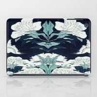 japanese iPad Cases featuring JAPANESE FLOWERS by PureVintageLove
