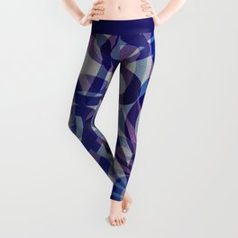 Floral Abstract G287 Leggings