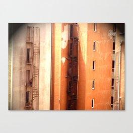 Fire Escape Canvas Print