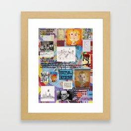 Beride, Homage Framed Art Print