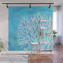 coral Wall Mural