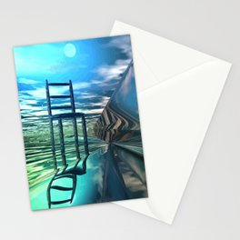 Der leere Stuhl Stationery Cards