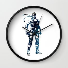 Solid Snake - Metal Gear Solid Wall Clock
