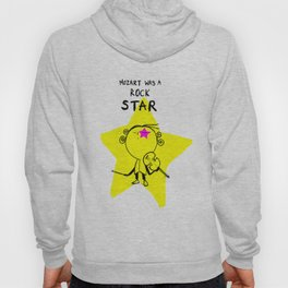 MOZART WAS A ROCK STAR (BLUE) Hoody