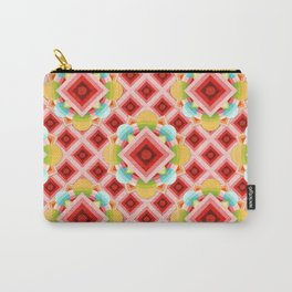 Circus Geometric Carry-All Pouch