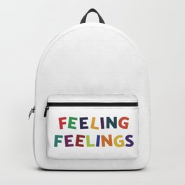 Feeling Feelings Backpack