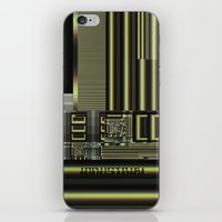 industrial iPhone & iPod Skins featuring Industrial by inkedsandra
