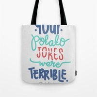 potato Tote Bags featuring Potato by eugeniaclara