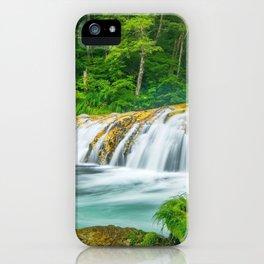 Harmonica Waterfall Yamanouchi Japan Ultra HD iPhone Case
