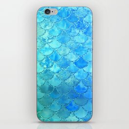Summer Dream Colorful Trendy Mermaid Scales iPhone Skin