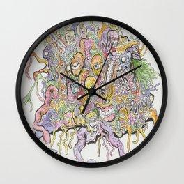 funky horror Wall Clock