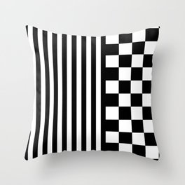 OTHER (BLACK-WHITE) Throw Pillow