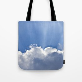 Clouds over Seaside Tote Bag