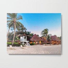 Paradise  ~  Playa del Carmen Metal Print