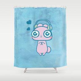 Usagi Dancer II Shower Curtain