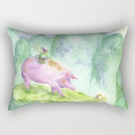 Year of the Pig Rectangular Pillow