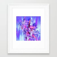 lily Framed Art Prints featuring Lily by Saundra Myles