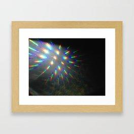 light lines Framed Art Print