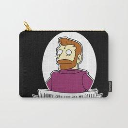 Hank Scorpio Alternative Simpsons Goth Punk Pop Art Carry-All Pouch
