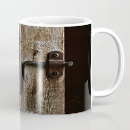The Box Stall Door Coffee Mug