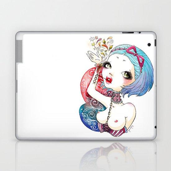 Flower Blood Laptop & iPad Skin