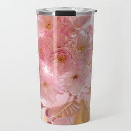 Sakura - Cherryblossom - Cherry blossom - Pink flowers Travel Mug