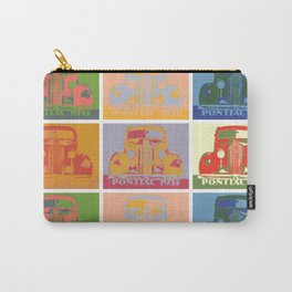 Pontiac 1935 9 times pop art style Carry-All Pouch