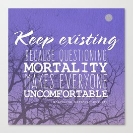 Keep Existing Canvas Print