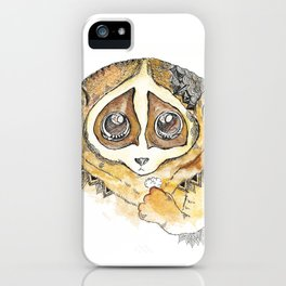 Slow Loris iPhone Case