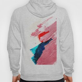 Late summer afternoon modern abstract painting and illustration Hoody