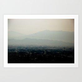 Bandung : Bloem Der Indische Art Print