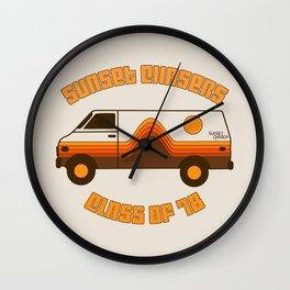 Sunset Chaser Wall Clock